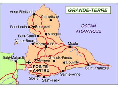 Guadeloupe le nord grande terre a sa communaut d agglom ration domactu - Pole emploi port louis guadeloupe ...